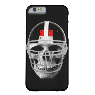 Football skull barely there iPhone 6 case