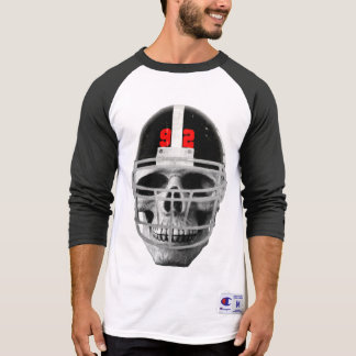 Football skull T-Shirt