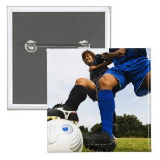 Football (Soccer) 15 Cm Square Badge