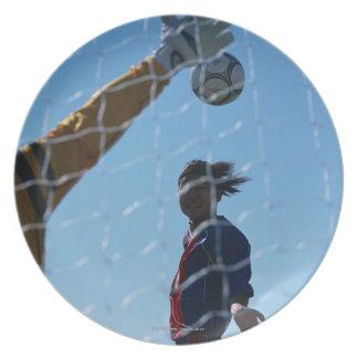 Football (Soccer) 3 Plate