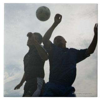Football (Soccer) 4 Large Square Tile