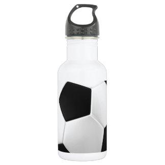 football soccer 532 ml water bottle