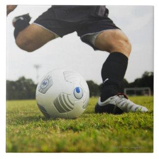 Football (Soccer) 5 Large Square Tile