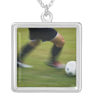 Football (Soccer) 6 Silver Plated Necklace