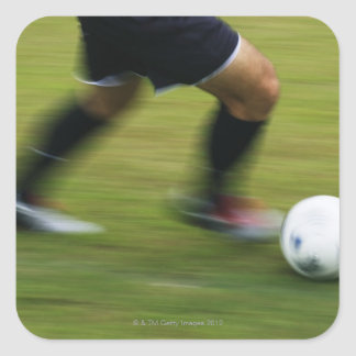 Football (Soccer) 6 Square Sticker