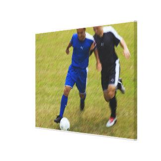 Football (Soccer) 8 Canvas Print