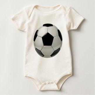 Football Soccer Ball Baby Bodysuit