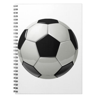 Football Soccer Ball Notebook