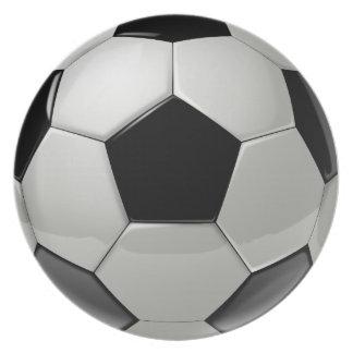 Football Soccer Ball Plate