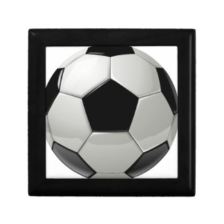 Football Soccer Ball Small Square Gift Box