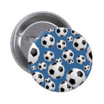 Football Soccer Balls Button