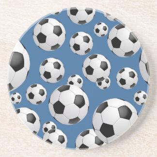 Football Soccer Balls Coaster