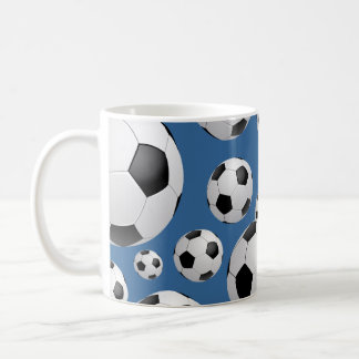 Football Soccer Balls Mug