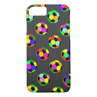 football - soccer balls pattern iPhone 7 case