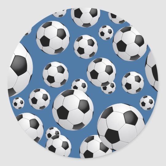 Football Soccer Balls Sticker