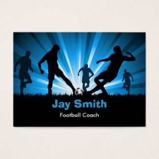 Football / Soccer Business Card