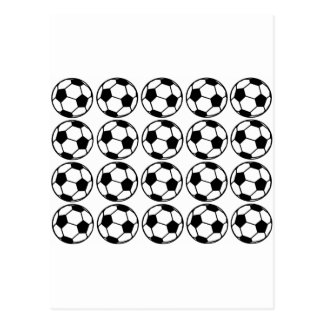 Football - Soccer Design Postcard