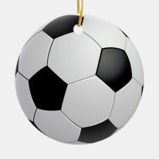 Football Soccer Ornament