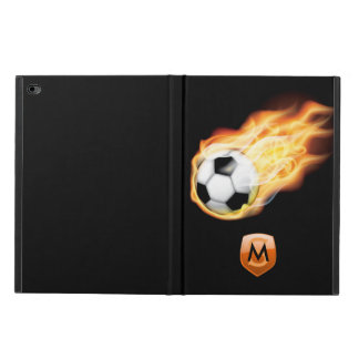 Football/Soccer Personalized Monogram Powis iPad Air 2 Case