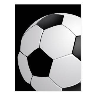 Football Soccer Postcard