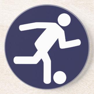 Football Soccer Symbol Coaster
