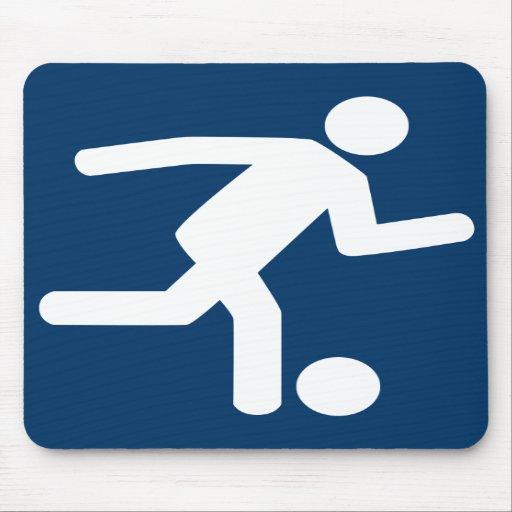 Football Soccer Symbol Mousepad