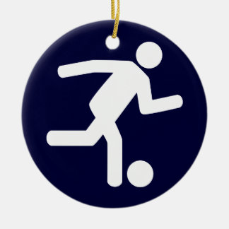 Football Soccer Symbol Ornament