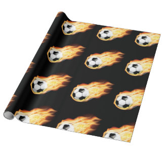 Football/Soccer Themed Wrapping Paper