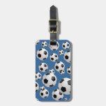Football Soccer Travel Bag Tag
