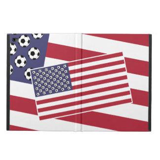 Football Soccer USA Flag