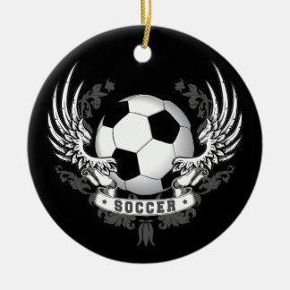 Football Soccer Wings Ornament