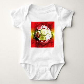 football spain baby bodysuit
