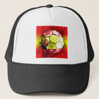 football spain trucker hat