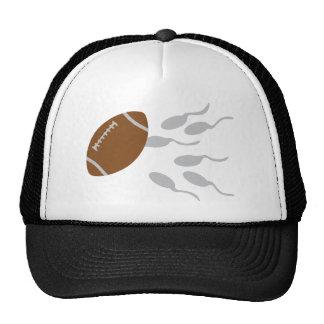 football sperm icon cap