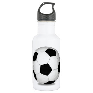 Football sports play games outdoor fun happy kids 532 ml water bottle
