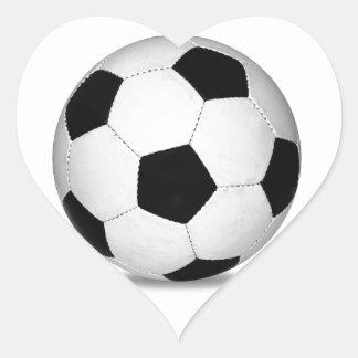 Football sports play games outdoor fun happy kids heart sticker