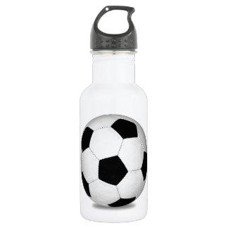 Football sports play games outdoor fun happy kids 532 ml water bottle