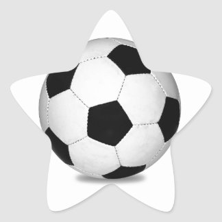 Football sports play games outdoor fun happy kids star sticker