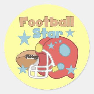 Football Star Stickers