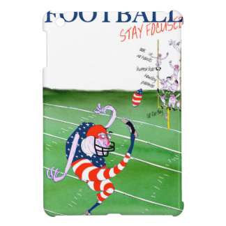 Football stay focused, tony fernandes iPad mini case