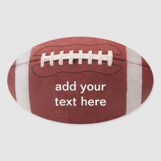 Football Stickers Personalized!