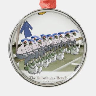football subs blues christmas ornament
