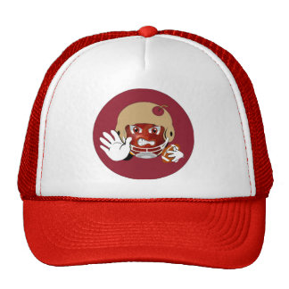 FOOTBALL SUPER TRUCKER HAT