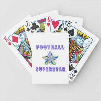 Football Superstar Deck Of Cards