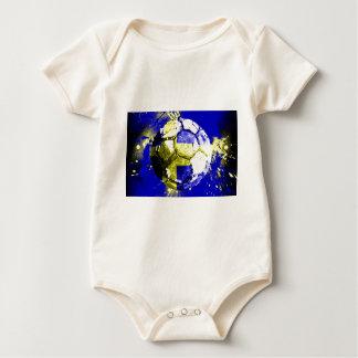 football Sweden Baby Bodysuit