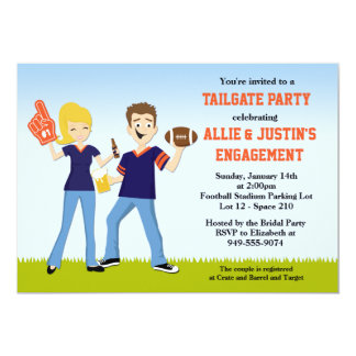 Football Tailgate Party Invitation