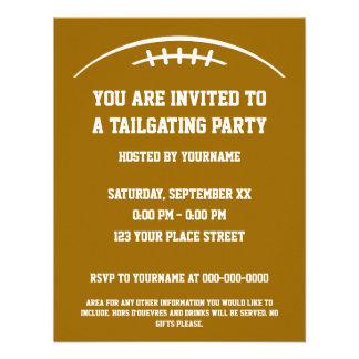 Football Tailgating Party Invitation