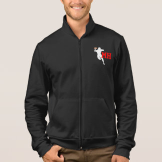 Football Team Fleece Zip Jogger Jacket