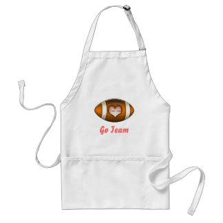Football Team Mom Adult Apron
