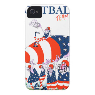 Football team work, tony fernandes Case-Mate iPhone 4 case